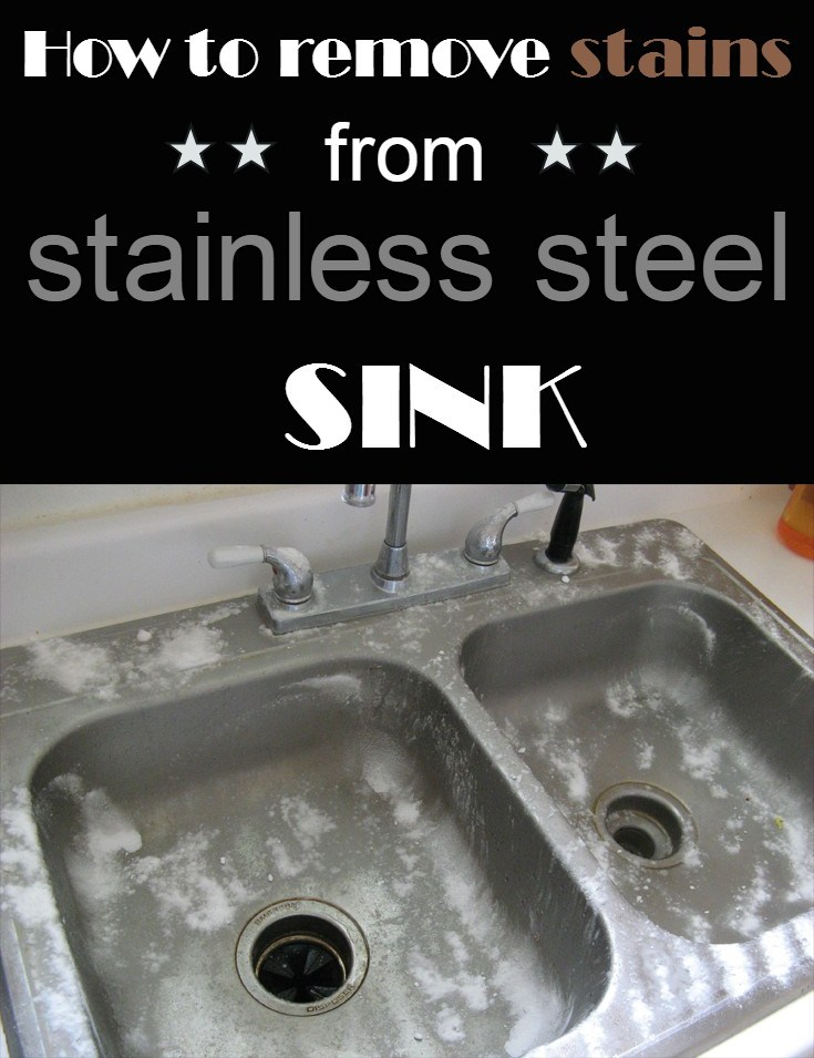How To Remove Stains From Stainless Steel Sink Cleaninginstructor Com
