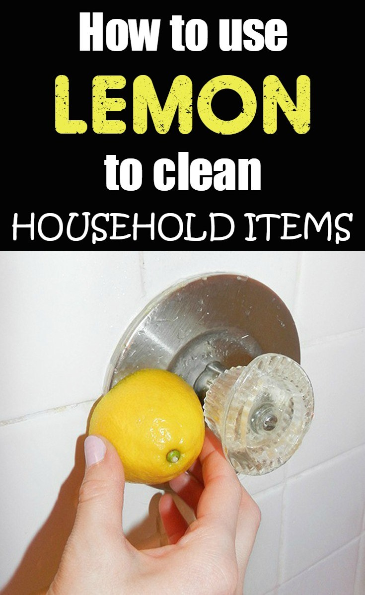 How To Use Lemon To Clean Household Items