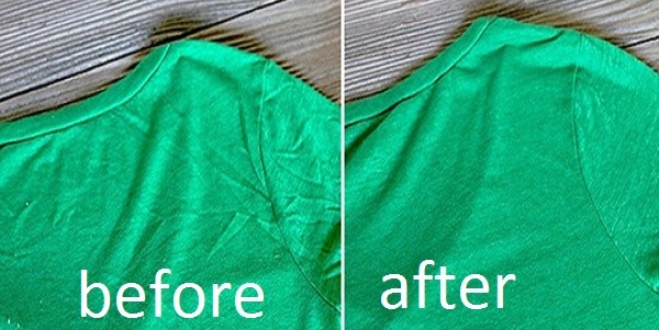 How to de-wrinkle your clothes without using an iron