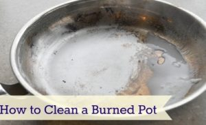 Simple trick that helps you to quickly clean burned pots