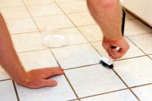 How to clean tile joints without expensive detergents