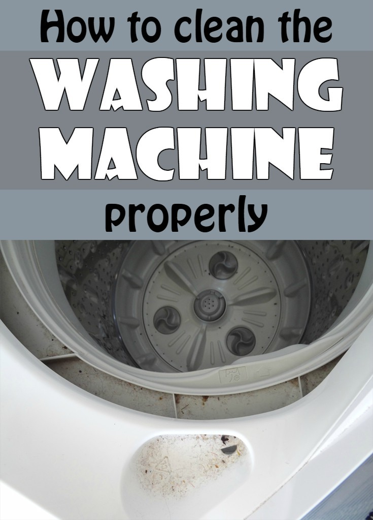 how to clean the washing machine properly. Black Bedroom Furniture Sets. Home Design Ideas