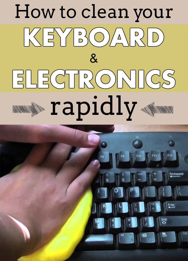 How To Clean Your Keyboard And Electronics Rapidly