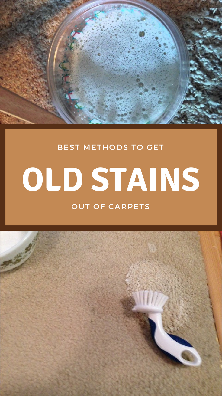 Best Methods To Get Old Stains Out Of Carpets