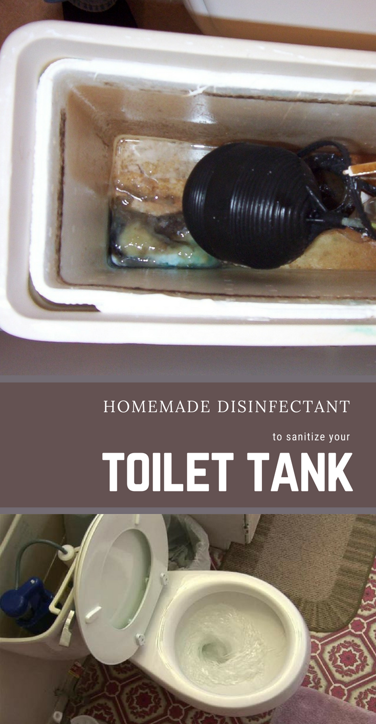 Homemade Disinfectant To Sanitize Your Toilet Tank