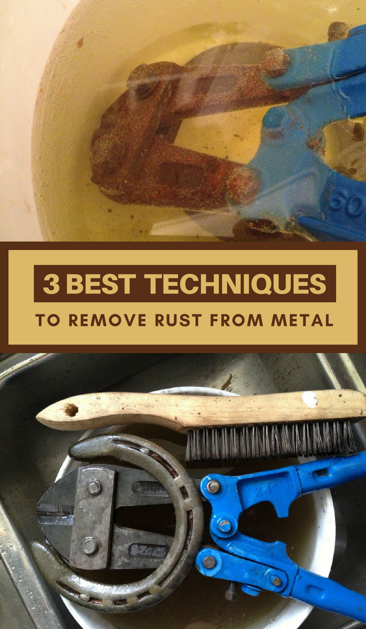the best 3 techniques to remove rust from metal. Black Bedroom Furniture Sets. Home Design Ideas