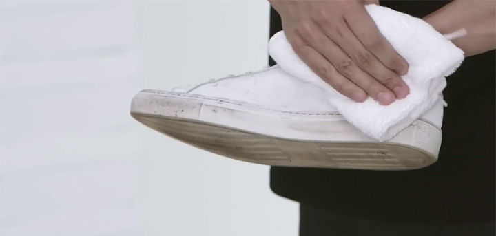 Keep White Sneakers Looking Brand New With This DIY Super Cleaner
