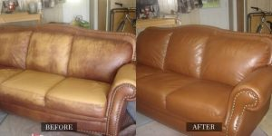 How To Use Cleansing Milk To Clean The Leather Armchair And Sofa