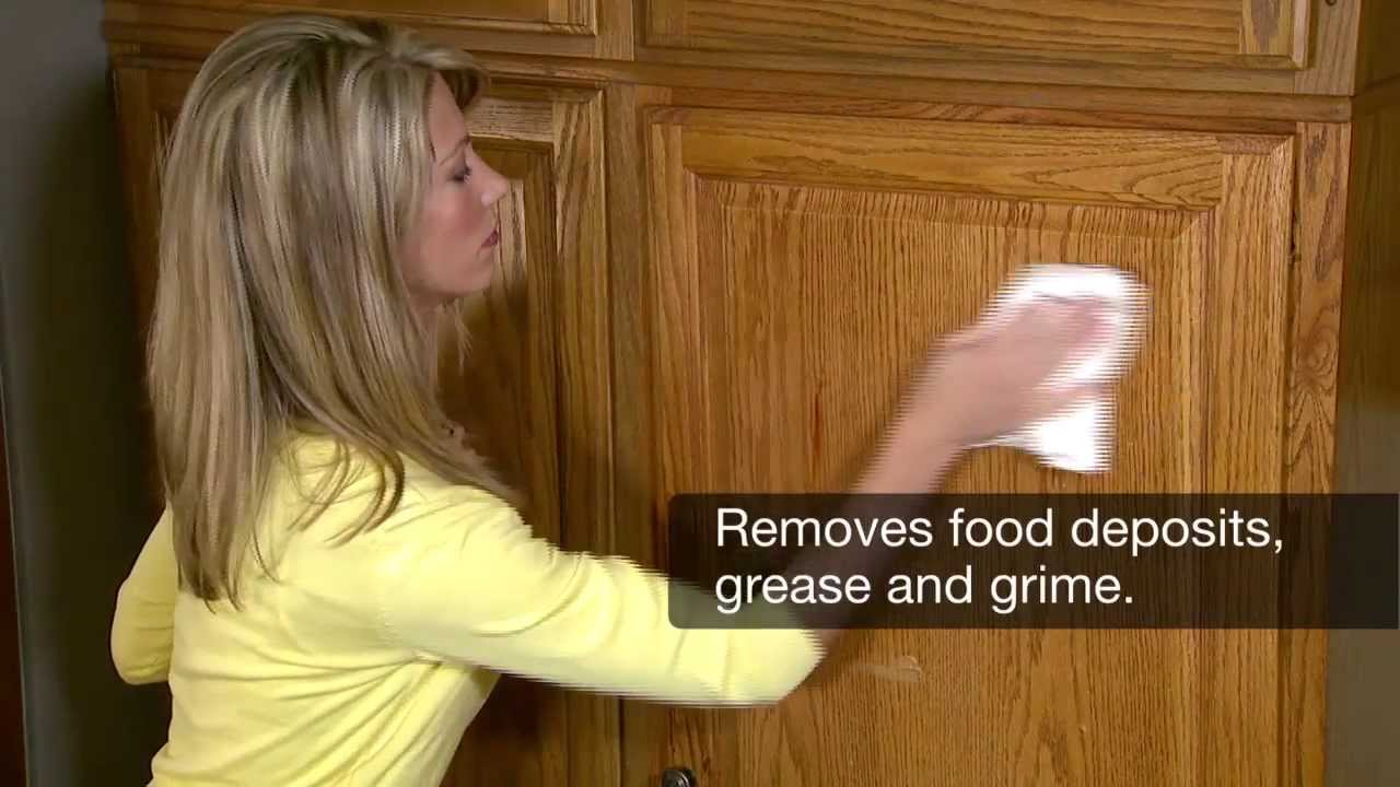 Remove Grease And Grime Easily! How To Really Clean Oak Kitchen Cabinets