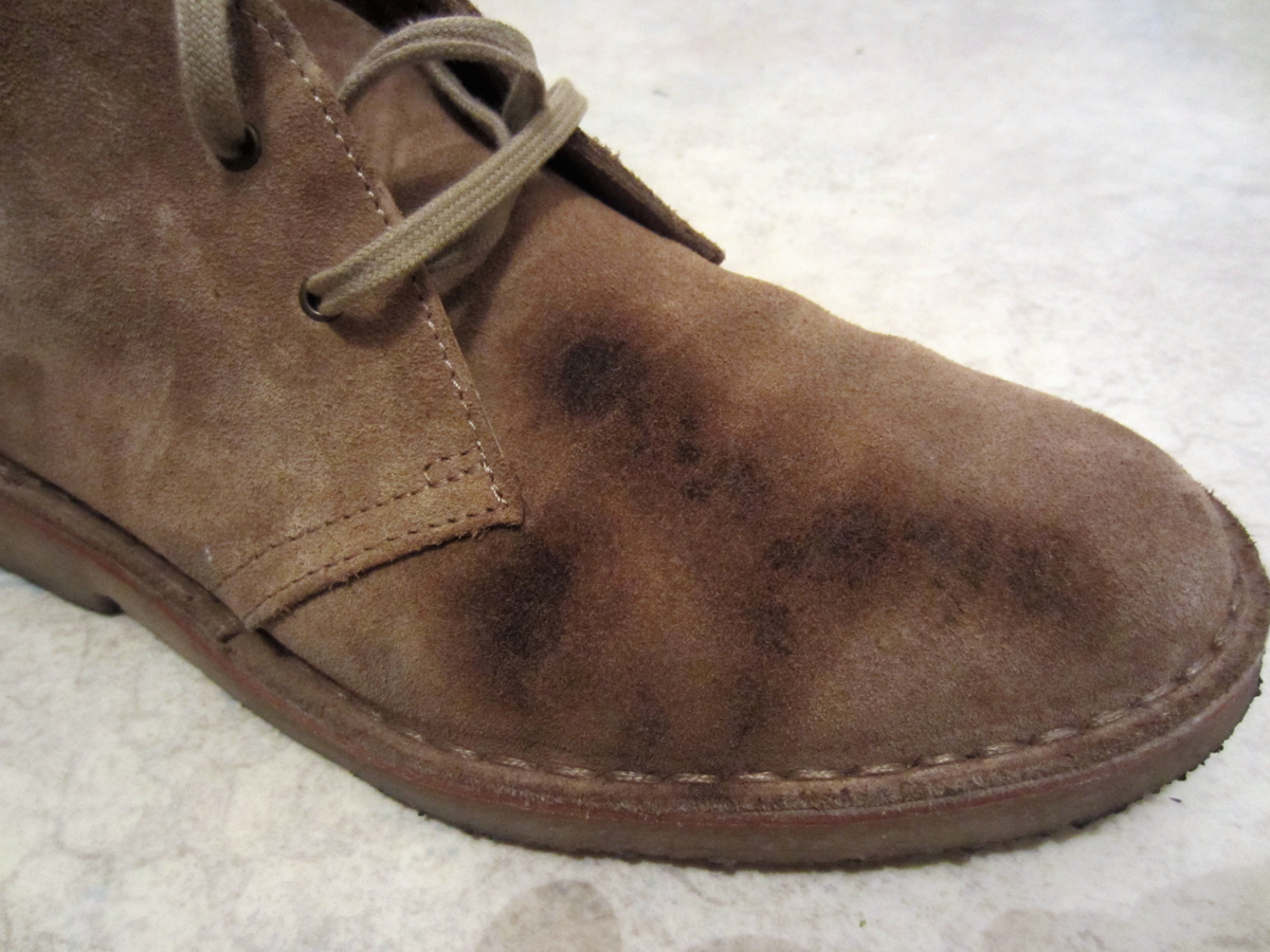 How To Save Your Suede Boots From Grease Stains