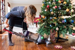 My Super-Easy Way To Clean Christmas Tree Needles