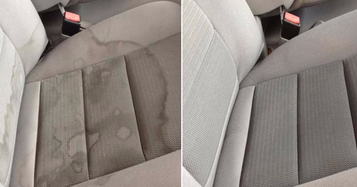 How To Get Coca Cola Stains Off Textile, Clean Car Seat Stains