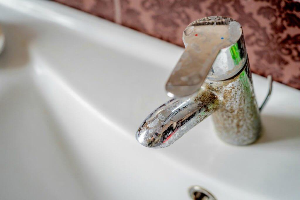 No-Scrub Method: Remove Rust Stains On Chrome Bathroom Fixtures