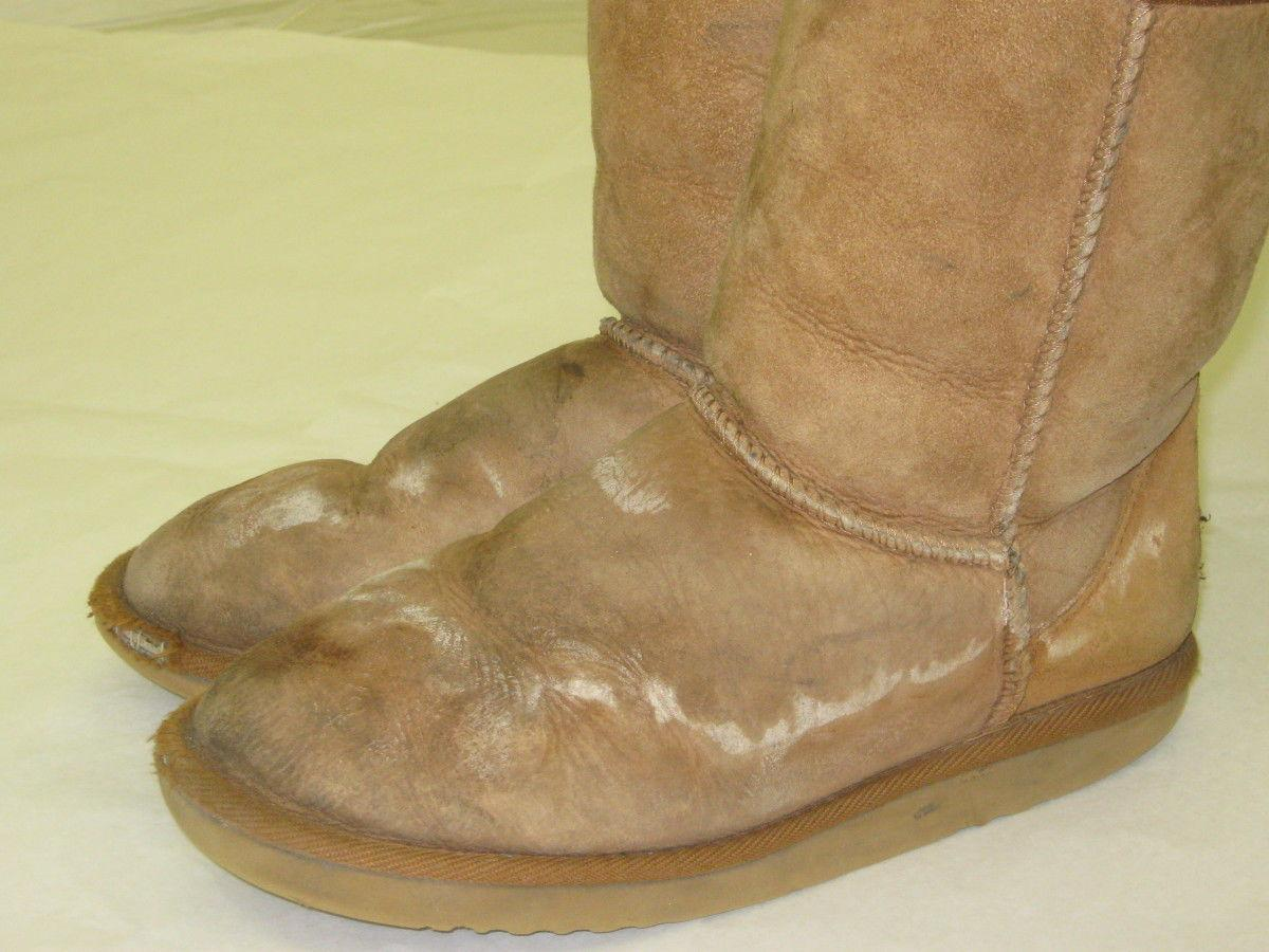 Cobbler's Advice: How To Remove White Salt Stains From Suede Without Damaging The Boots