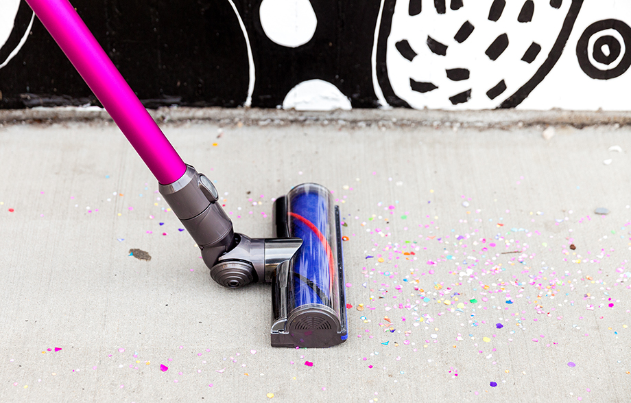 The Best Way To Clean Up Messy Glitter Spills From Any Surface